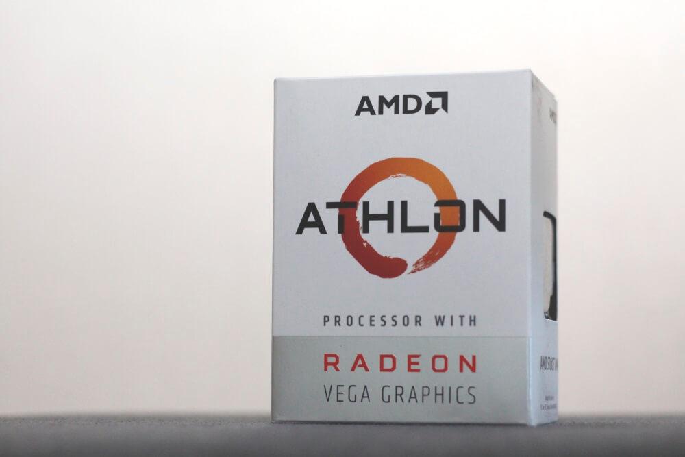 AMD Athlon 200GE pack 6