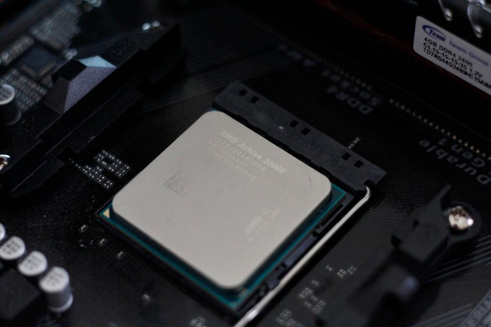 AMD Athlon 200GE pack 9