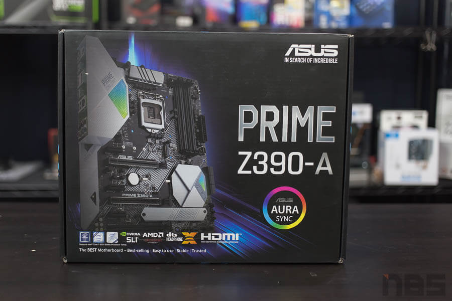 ASUS Prime Z390 A Motherboard 1