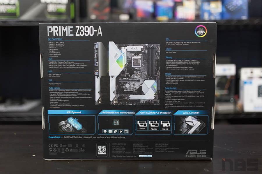 ASUS Prime Z390 A Motherboard 2