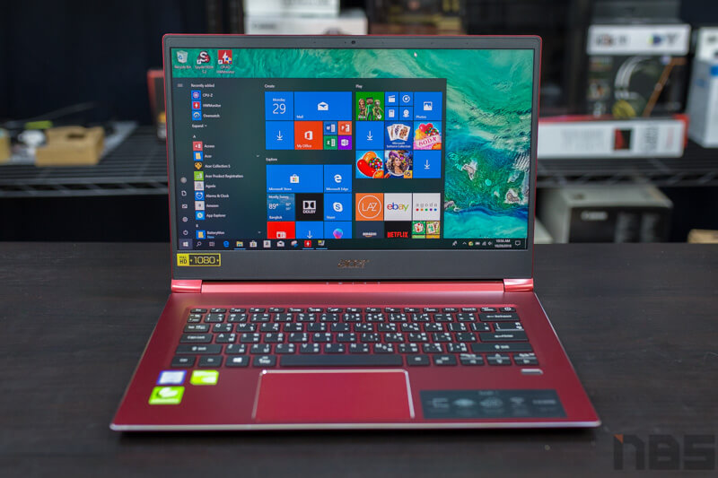 Acer Swift 3 2018 Review 1
