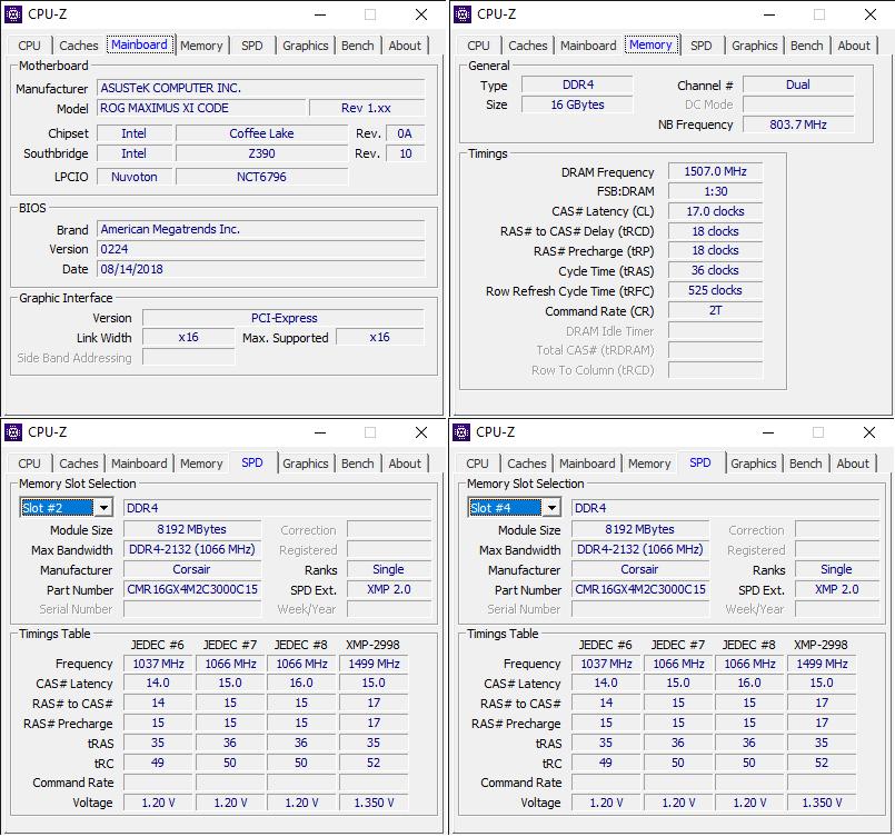 CPU Z 10 16 2018 2 20 25 PM