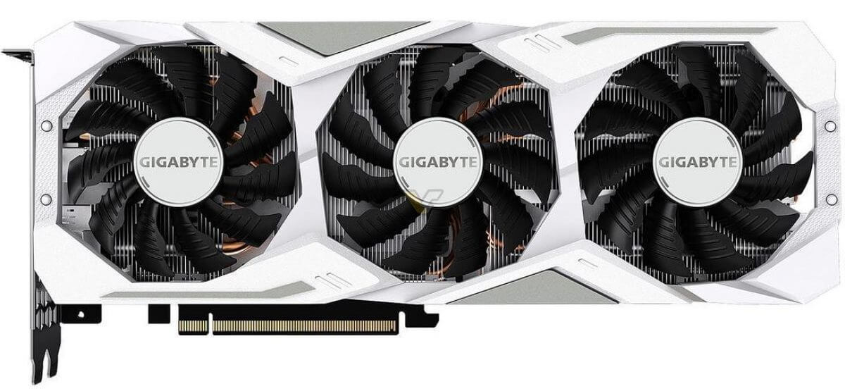 Gigabyte RTX 2080 Gaming OC White fan