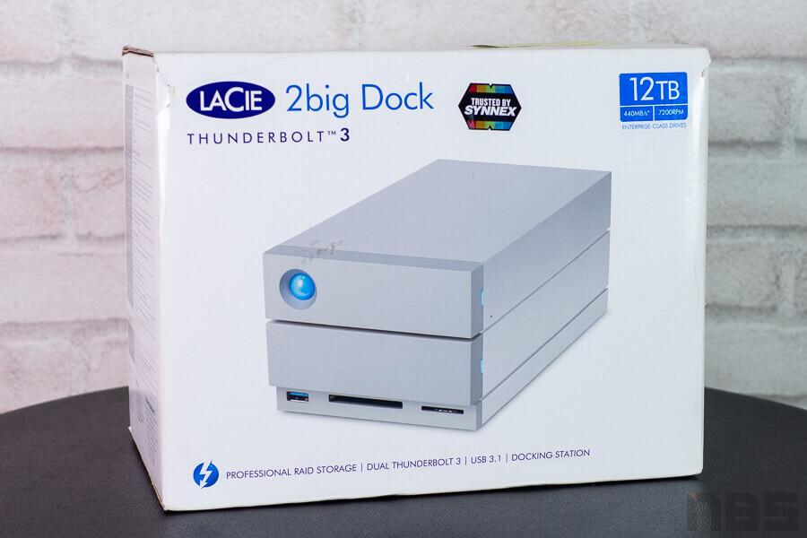 Review LaCie 20big Dock Thunderbolt3 NotebookSpec 1
