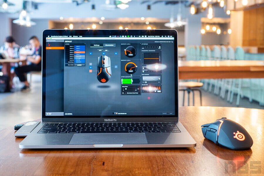Review Steelseries Rival 650 Wireless NotebookSpec 26