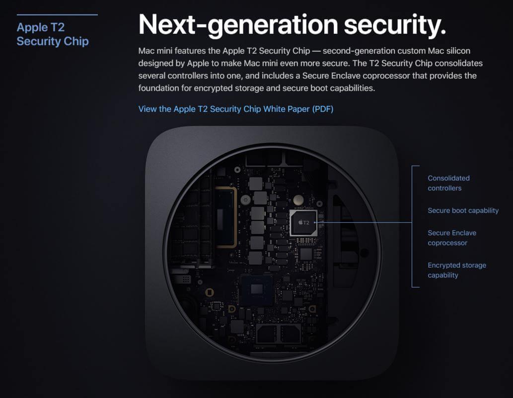 mac mini 2018 06