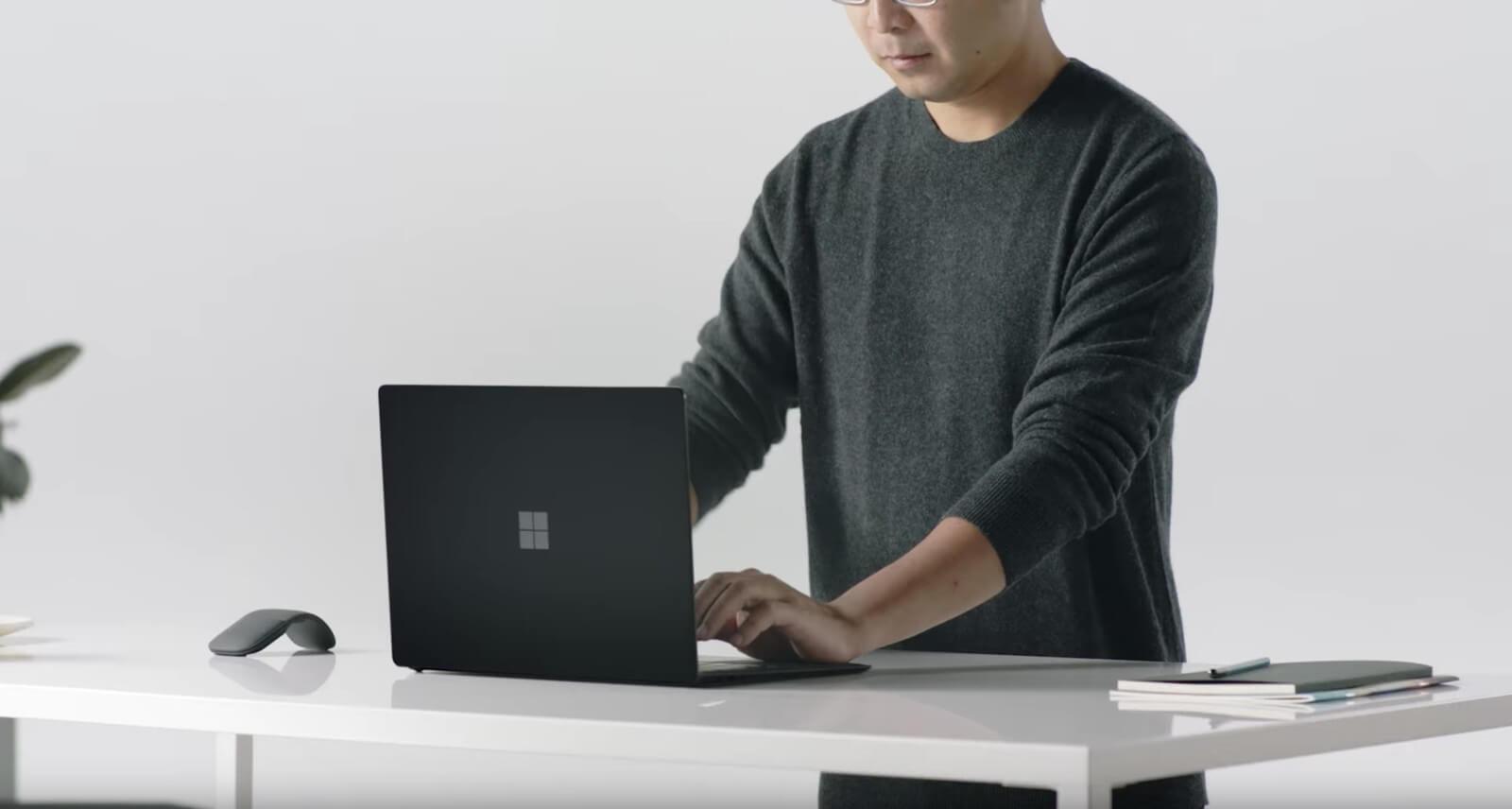 surface laptop 2 black