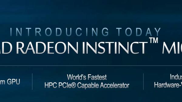 AMD Radeon Instinct MI60 7nm Graphics Card