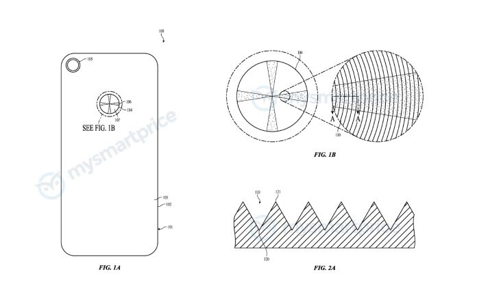 Apple iPhone Colour Gradient Patent 01