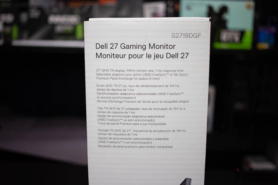 Dell 27 Gaming Monitor 55
