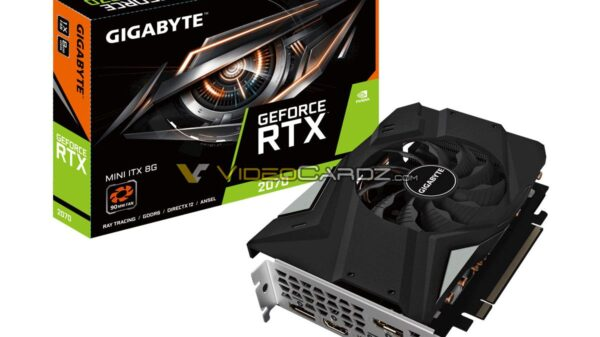 GIGABYTE GeForce RTX 2070 8GB MINI ITX 1