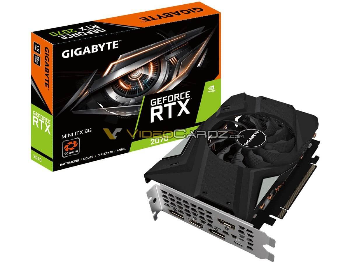 GIGABYTE GeForce RTX 2070 8GB MINI ITX 1