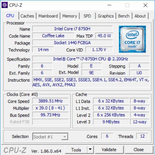 HP Omen 2018 CPU1