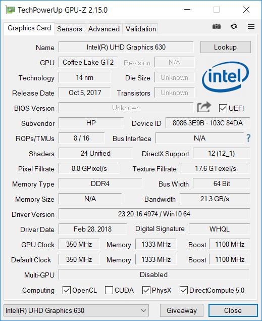 HP Omen 2018 GPU2