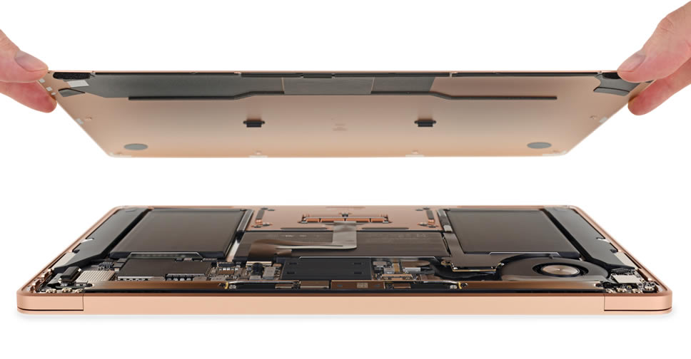 MacBook Air 2018 teardown