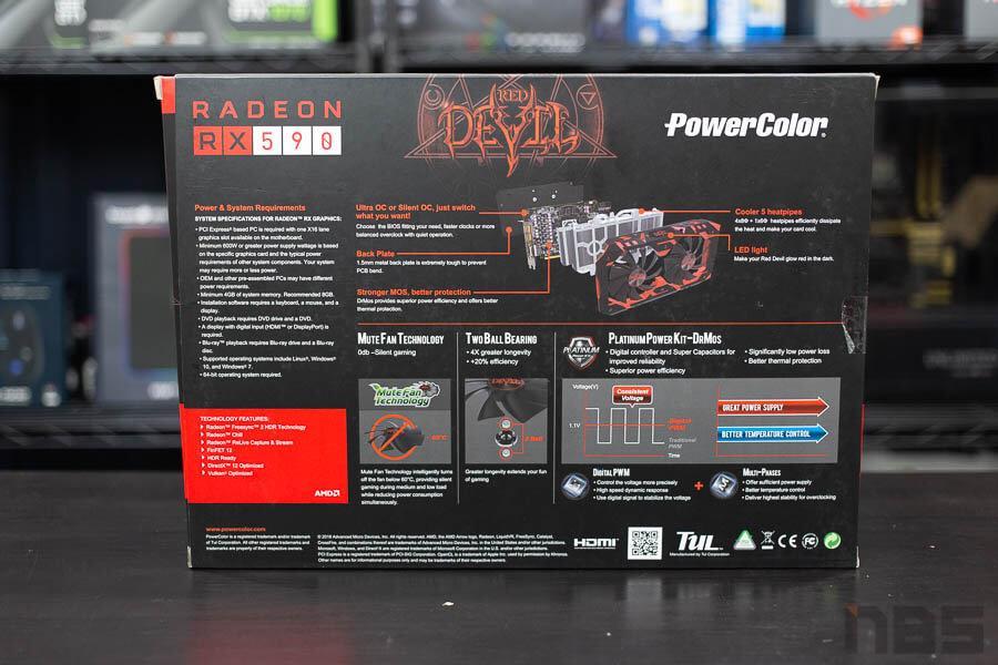 PowerColor Reddevil RX590 2