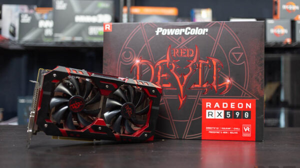 PowerColor Reddevil RX590 3