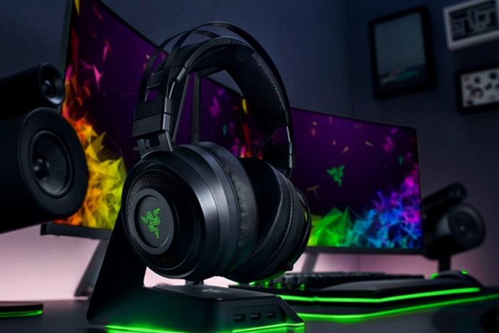 Gaming Headset – Razer Nari หูฟังไฮบริดสำหรับคอเกม ระบบเสียงใหม่ THX Spatial