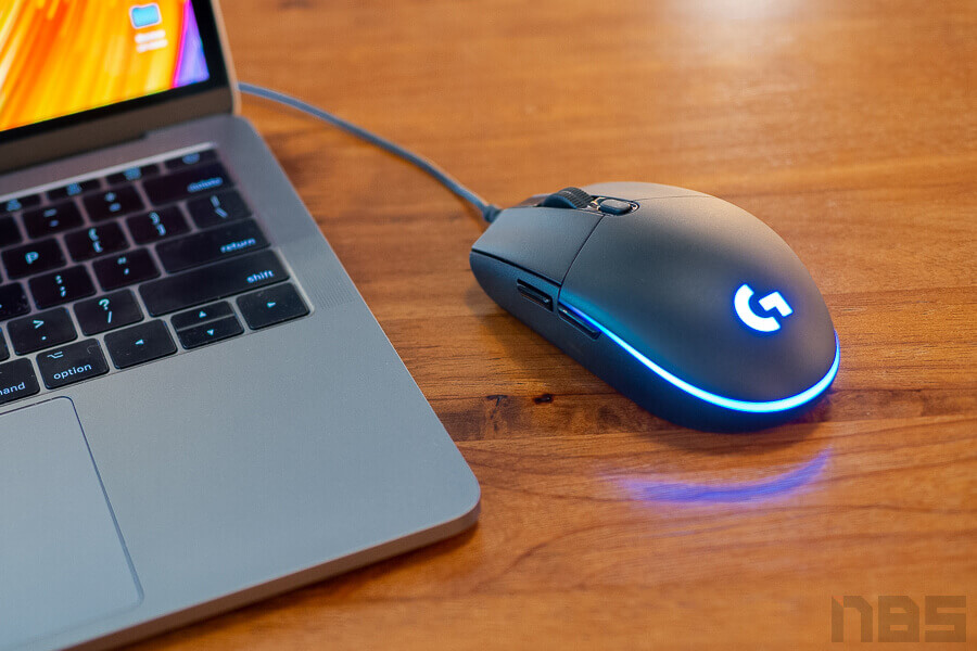 Review Logitech G Pro Gaming Mouse NotebookSPEC 11
