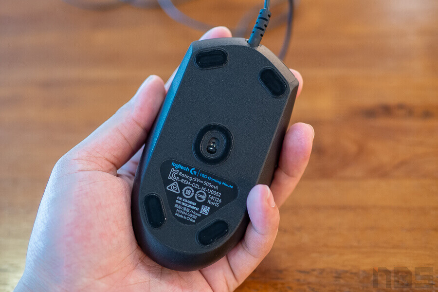 Review Logitech G Pro Gaming Mouse NotebookSPEC 9