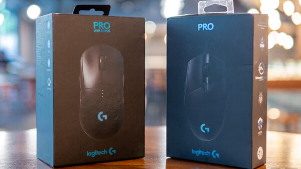 Review Logitech G Pro Wireless Gaming Mouse NotebookSPEC 35