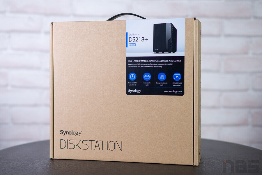 Review Synology DS218Plus NotebookSpec 1
