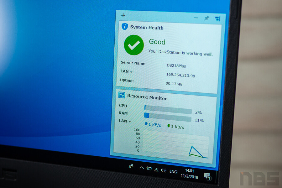 Review Synology DS218Plus NotebookSpec 35