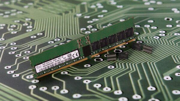SK Hynix DRAM 16 Gb module DDR5