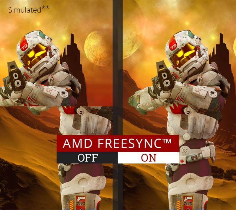 amd freesync technology 450w 1