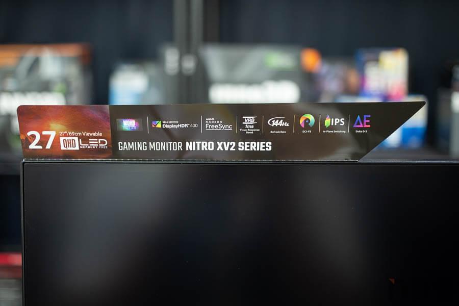 ACER LCD Monitor Nitro XV27 11