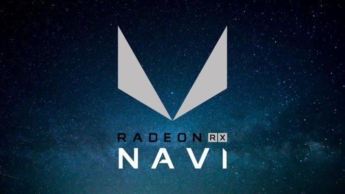 AMD Radeon RX Navi Mockup