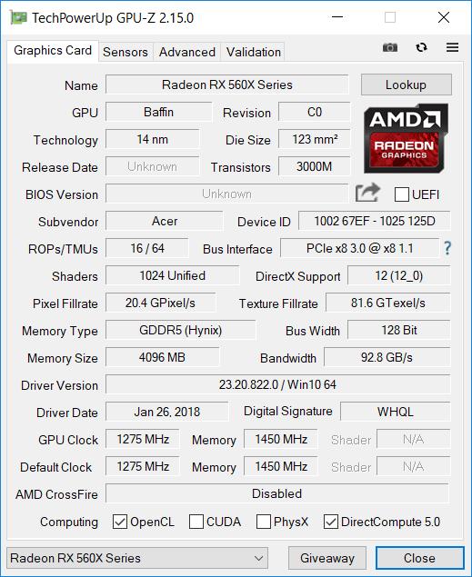 Acer Ryzen 7 gpu2
