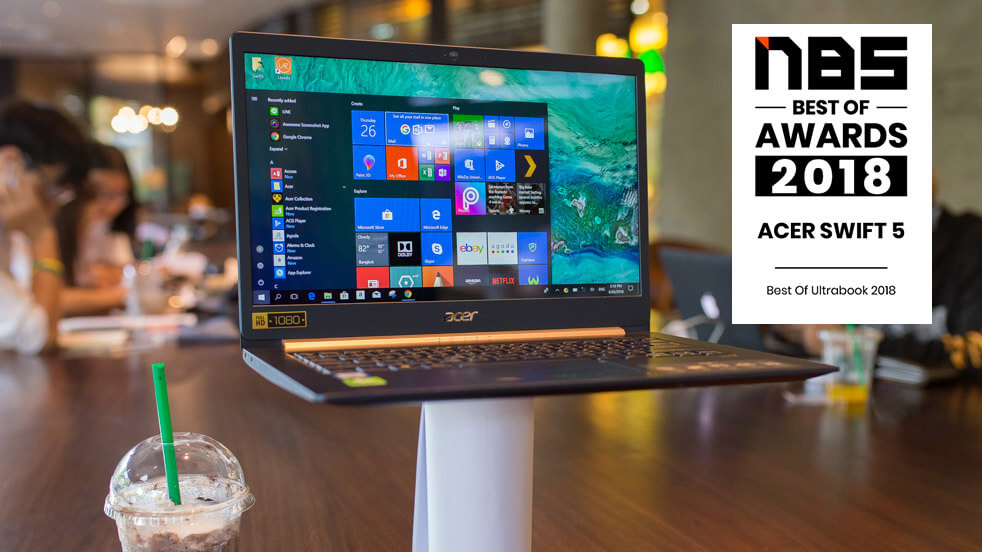 Acer Swift 5 2018 Review t 2