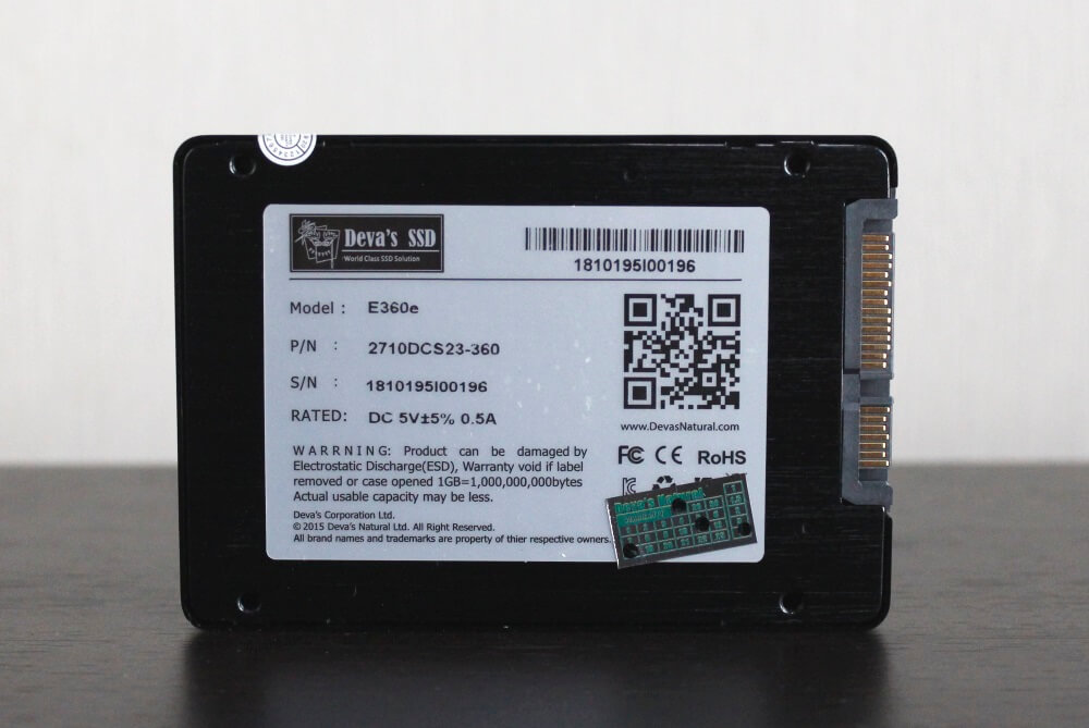 Deva SSD E360e 11