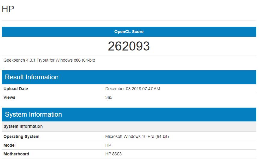 HP 8603