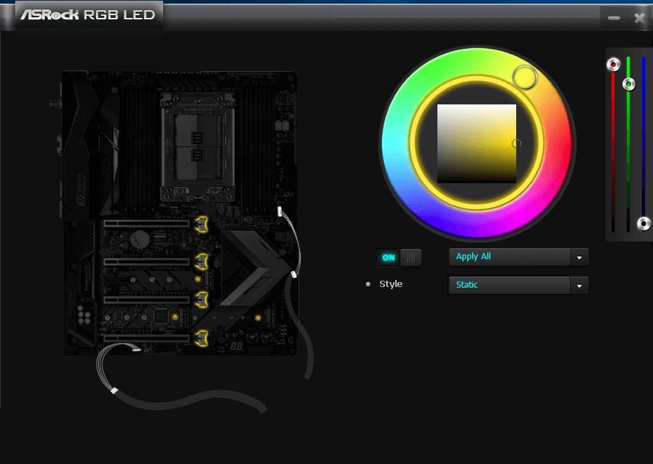 HyperX Fury RGB aurasync