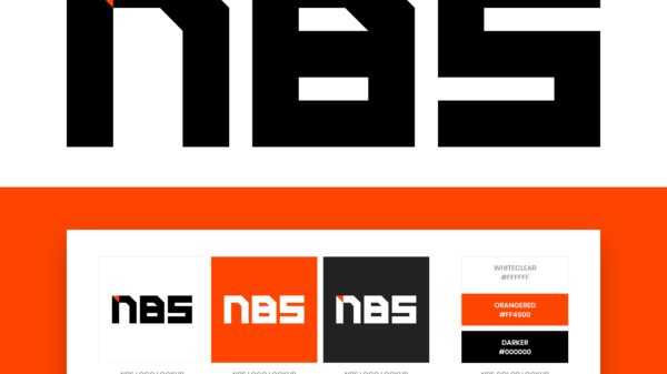 NBS logo color guide