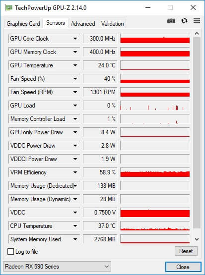 RX590 GPU z 1