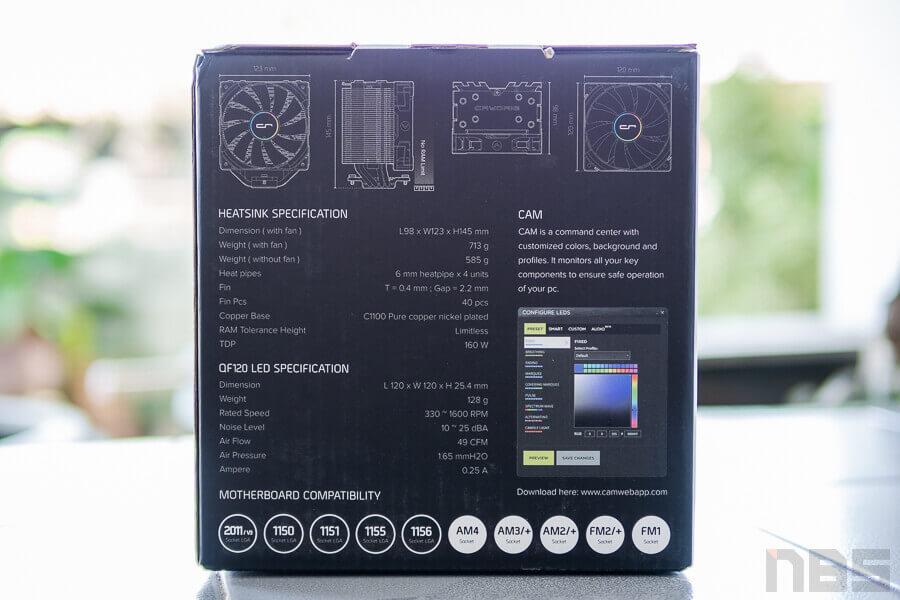 Review Cryorig H7 Quad Lumi NotebookSPEC 25