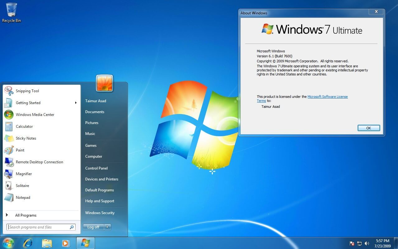 Microsoft - หมดเวลา! ปีหน้าคือปีสุดท้ายของ Windows 7 ก่อน หมดเวลา ...
