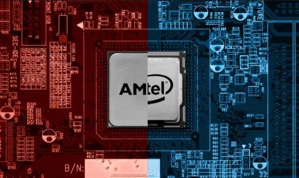 AMD Intel CPU 5