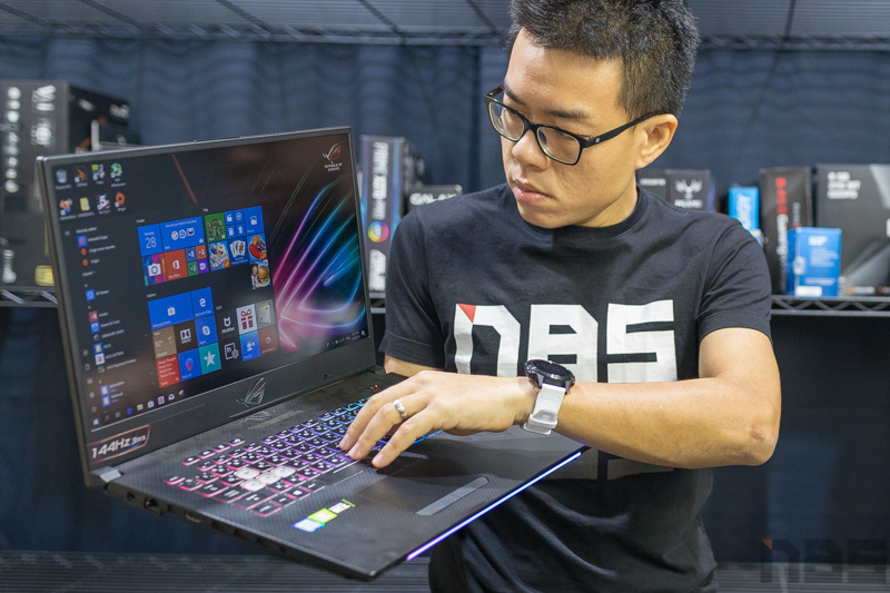 ASUS ROG GL704 Scar II RTX 2017 Review 93