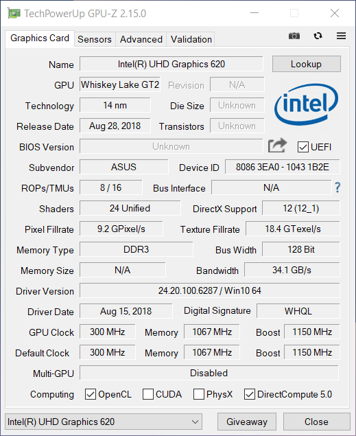 ASUS ZenBook 14 UX433F gpu2