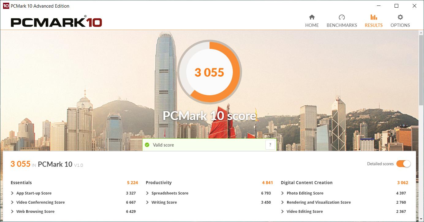 Acer Swift 3 AMD pcmark