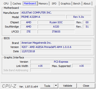 CPU Z 1 23 2019 10 44 53 AM