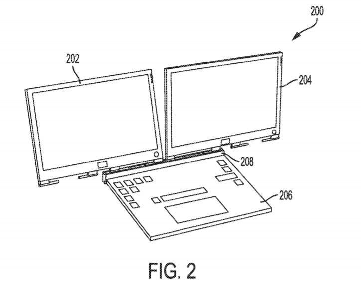 Dell laptop patent