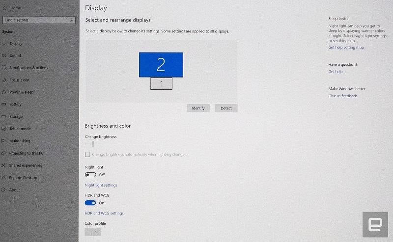 HDR on Windows 10 600 03