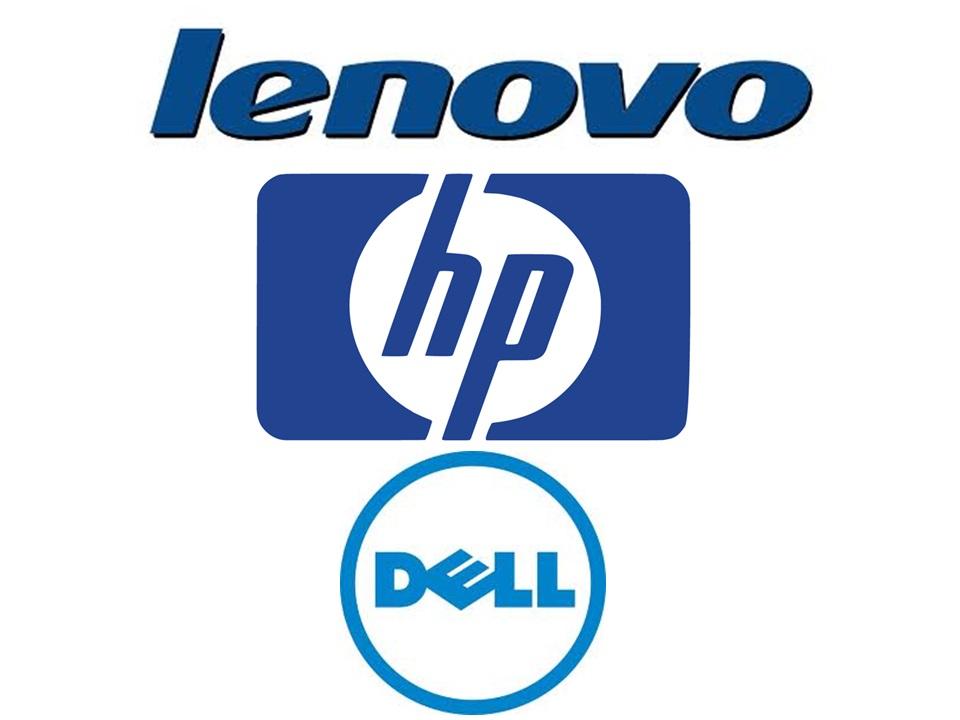 Lenovo HP Dell