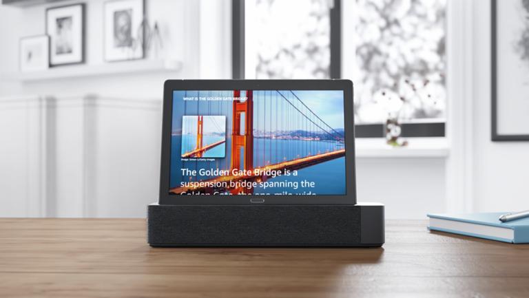 Lenovo Smart Tab P10 information