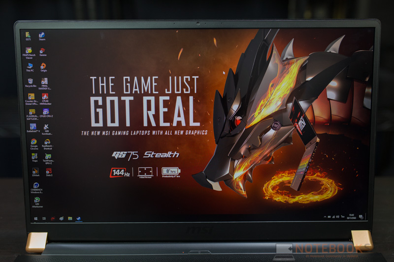 MSI GS75 RTX2080 Review 21